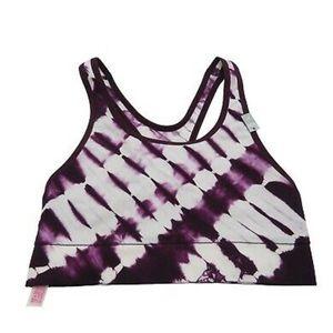 PINK Victoria's Secret Tie-Dye Racerback Bra